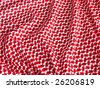 Bedouin style crochet textile. More of this motif & more fabrics in my port. - stock photo