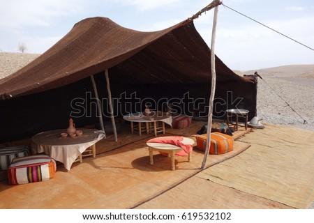 Bedouin tent Morocco desert & Bedouin Tent Stock Images Royalty-Free Images u0026 Vectors ...