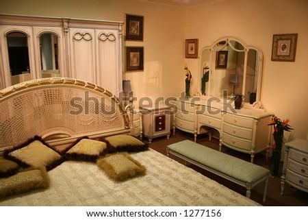 bedroom 2 - stock photo
