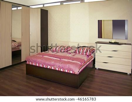 bedroom - stock photo