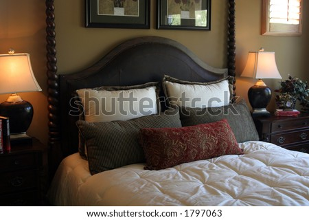 Bedroom interior #1 - stock photo