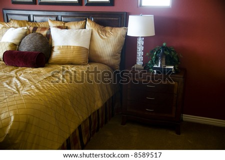 Bedroom Interior Design - stock photo