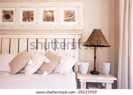Bedroom scene - stock photo