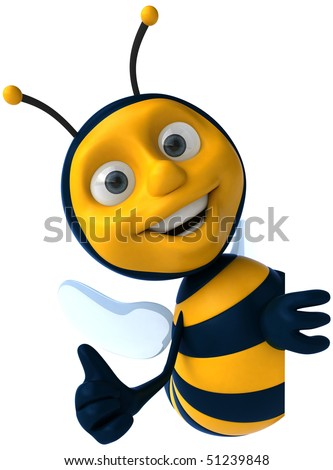Bee - stock photo