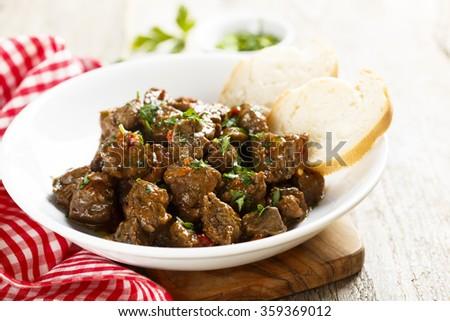 Beef goulash - stock photo