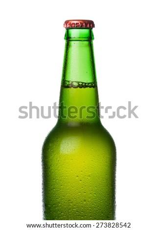 Beer, Bottle Cap, Beer Bottle. - stock photo