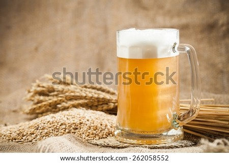 Beer, Brewery, Hop. - stock photo