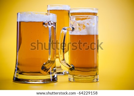 Beer collection in studio - stock photo