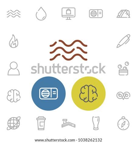 Beer Glass Icon Money Compass Internet Stock Illustration 1038262132