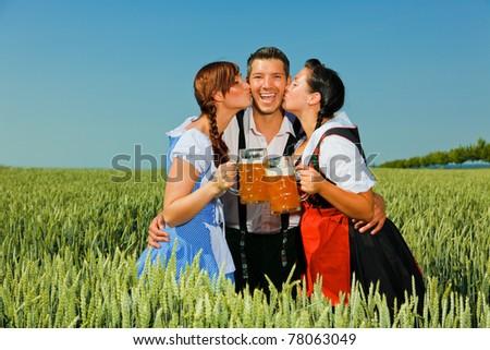 beer man - stock photo