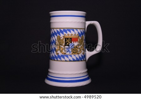 Beer mug from Bavaria, Germany - stock photo