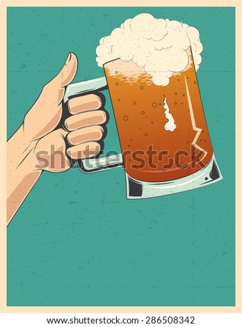 Beer party poster invitation template stock illustration 286508342 beer party poster invitation template stopboris Gallery