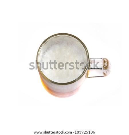 beer pint  - stock photo