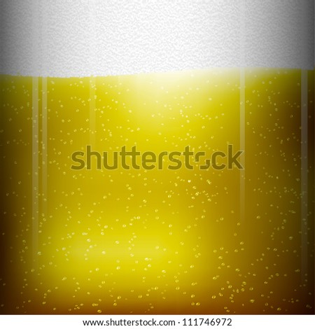 Beer texture. Raster version - stock photo