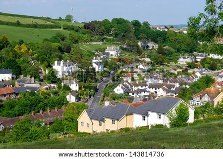 Beer Village, Devonshire, England - stock photo