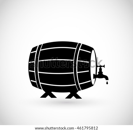 Beer/wine/whiskey barrel icon