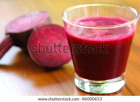 Beetroot juice,Healthy drink - stock photo