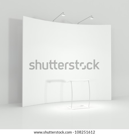 Before the Conference - 3d illustration - stock photo