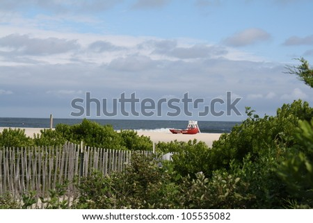 Before the Summer Crowds - stock photo