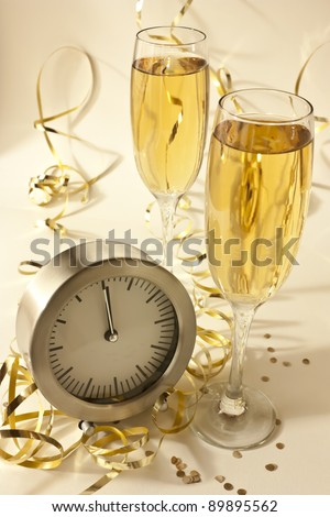 Beginning of the new year - stock photo
