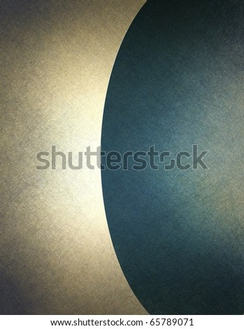 beige and blue parchment background cover with graphic art layout design, fine elegant texture, soft faded highlight area with darkened burnt edges, and copy space to add your own text or title - stock photo