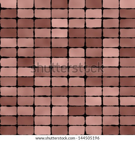 Beige and brown floor tiles