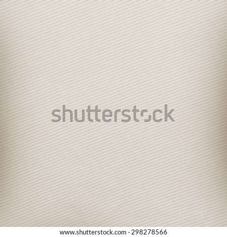 beige background, canvas fabric texture, oblique lines pattern pattern - stock photo