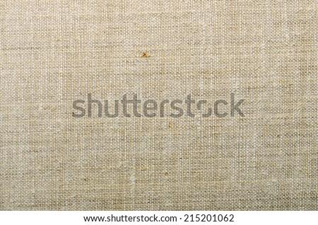 beige canvas texture - stock photo
