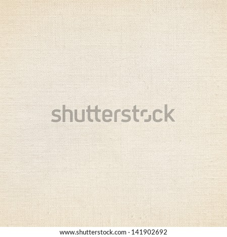beige canvas texture paper background - stock photo