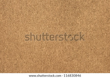 Beige carpet texture. - stock photo