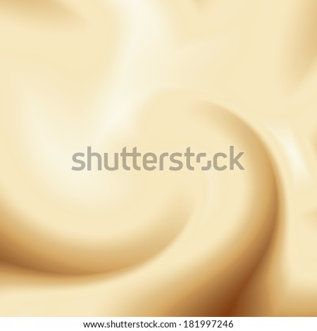beige coffee background, cream or chocolate and milk swirl background - stock photo