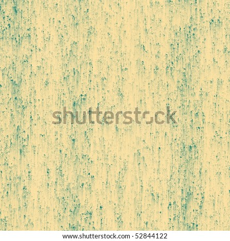 beige color with teal smear grunge paper or background
