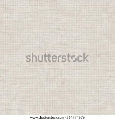 beige linen fabric texture background, seamless grid pattern - stock photo