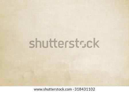 beige linen texture old paper background - stock photo