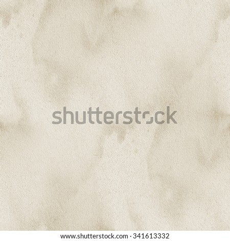 beige old paper texture - seamless background - stock photo