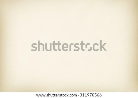 beige paper background clean canvas texture - stock photo