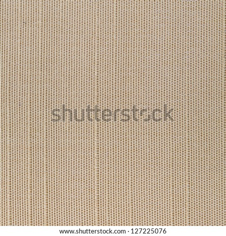 Beige square fabric background - stock photo