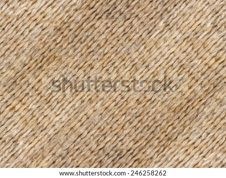 Beige wool textile texture background high definition - stock photo
