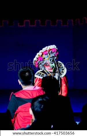 Beijing opera  - stock photo