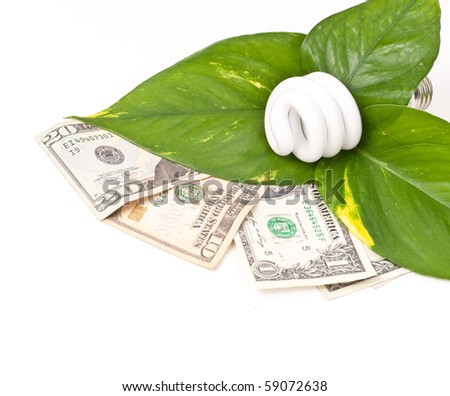 Being Energy Efficient - stock photo