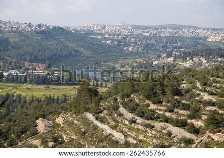 Beit Zayit, Jerusalem - stock photo