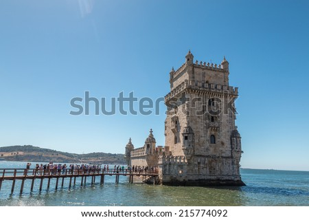 Belem Tower in Portugal