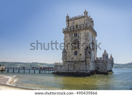 Belem Tower is a fortified tower located in the city of Lisbon, Portugal