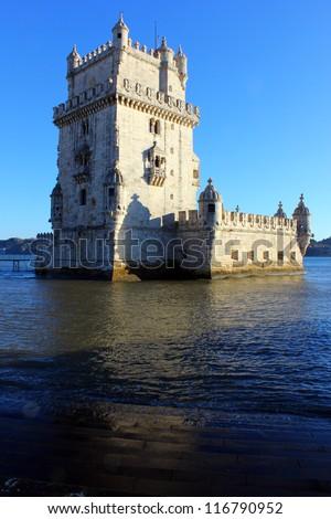 Belem Tower, Lisbon, Portugal - stock photo