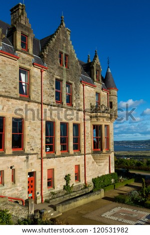Belfast Castle, Country Park, Northern Ireland - stock photo
