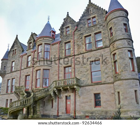 Belfast Castle, Northern Ireland - stock photo
