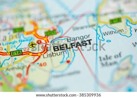 Belfast. Northern Ireland - stock photo
