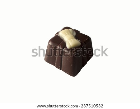 Belgium chocolate - stock photo
