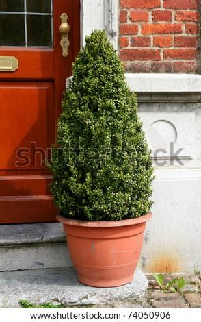 belgium traditional home decorations - stock photo