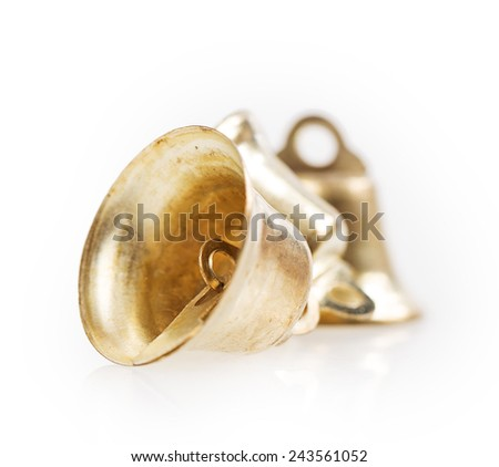bell Isolated on white background - stock photo